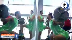 کلیپ فدراسیون والیبال به بهانه خداحافظی سعید معروف