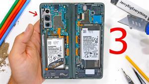 بررسی و کالبدشکافی گوشی Galaxy Z Fold 3