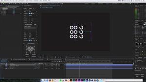 اسکریپت تکثیر و انیمیت در افترافکت – Cloners + Effectors