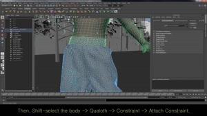 دانلود پلاگین FXGear Qualoth برای Maya