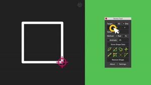 اسکریپت کنترل گوشه های ماسک برای افترافکت – Vertex Tool