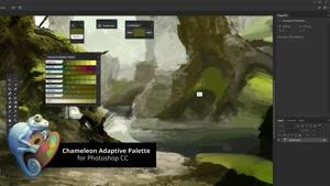 دانلود پالت Chameleon Adaptive Palette 2.4.5 برای فتوشاپ