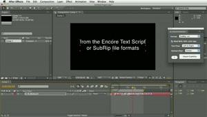 اسکریپت وارد کردن فایل زیرنویس به افترافکت – pt ImportSubtit