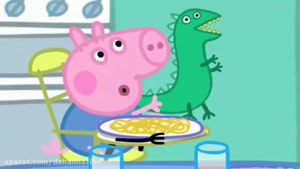 peppa pig the dinosour is lost