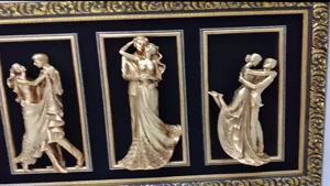تابلو پلی استر طرح عروس و داماد – دیجی دکوری