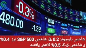 گزارش قبل بازار آمریکا- جمعه 2 مهر 1400