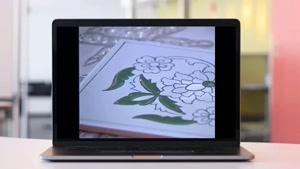 ساخت کاشی هفت رنگ - گروه معماری سنتی آرچی لرن - قسمت 5