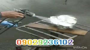 قیمت دستگاه مخمل پاش*دستگاه آبکاری*کروم حرارتی09106565375